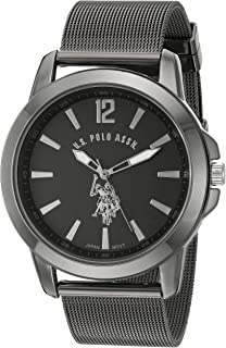 2b2aa552baf Amazon.com  U.S. Polo Assn. Sport Men s US8170 Black and Gunmetal ...