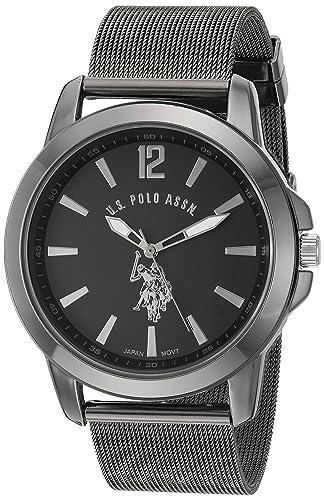 Metal WatchColor blackmodelUsc80384 Polo And Alloy Men's Us Quartz AssnClassic nwN80m