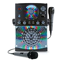 Deals on Singing Machine Karaoke SML385BTBK (Black) Bundle