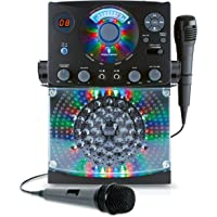 Singing Machine Karaoke SML385BTBK Bundle (Black)