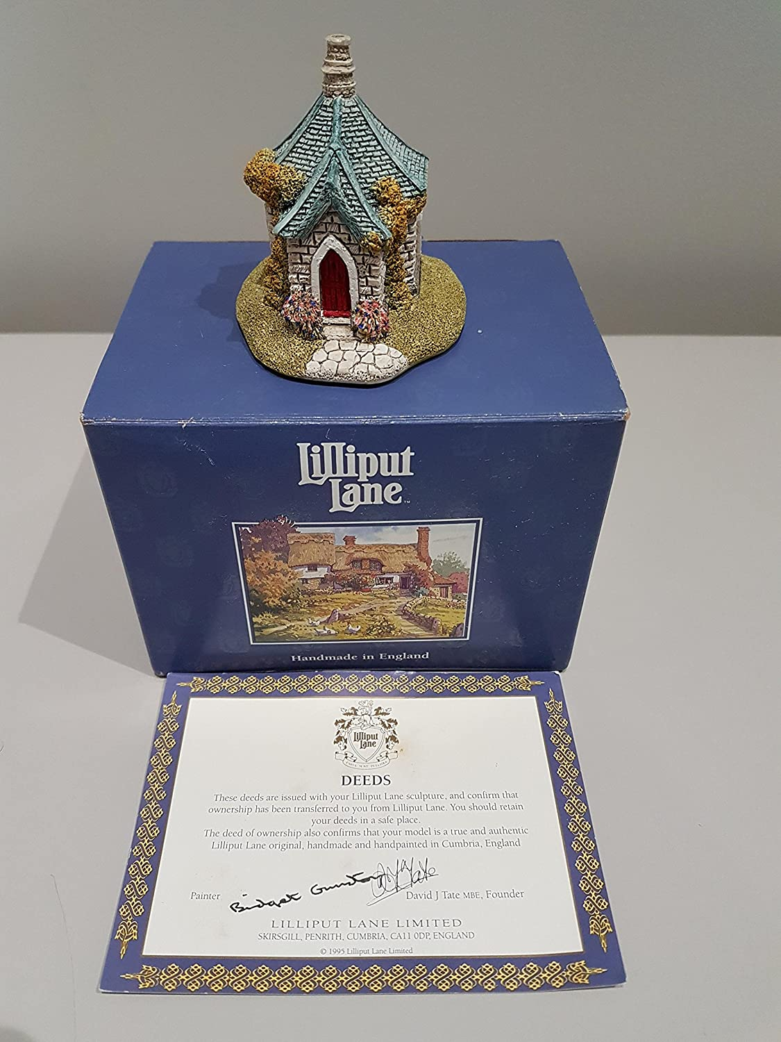 Lilliput Lane - Farthing Cottage, Made In England