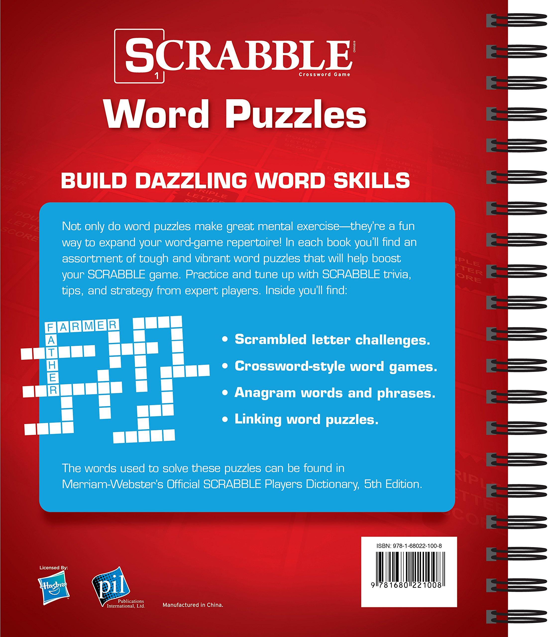 SCRABBLE® Word Puzzles: Editors of Publications International Ltd ...
