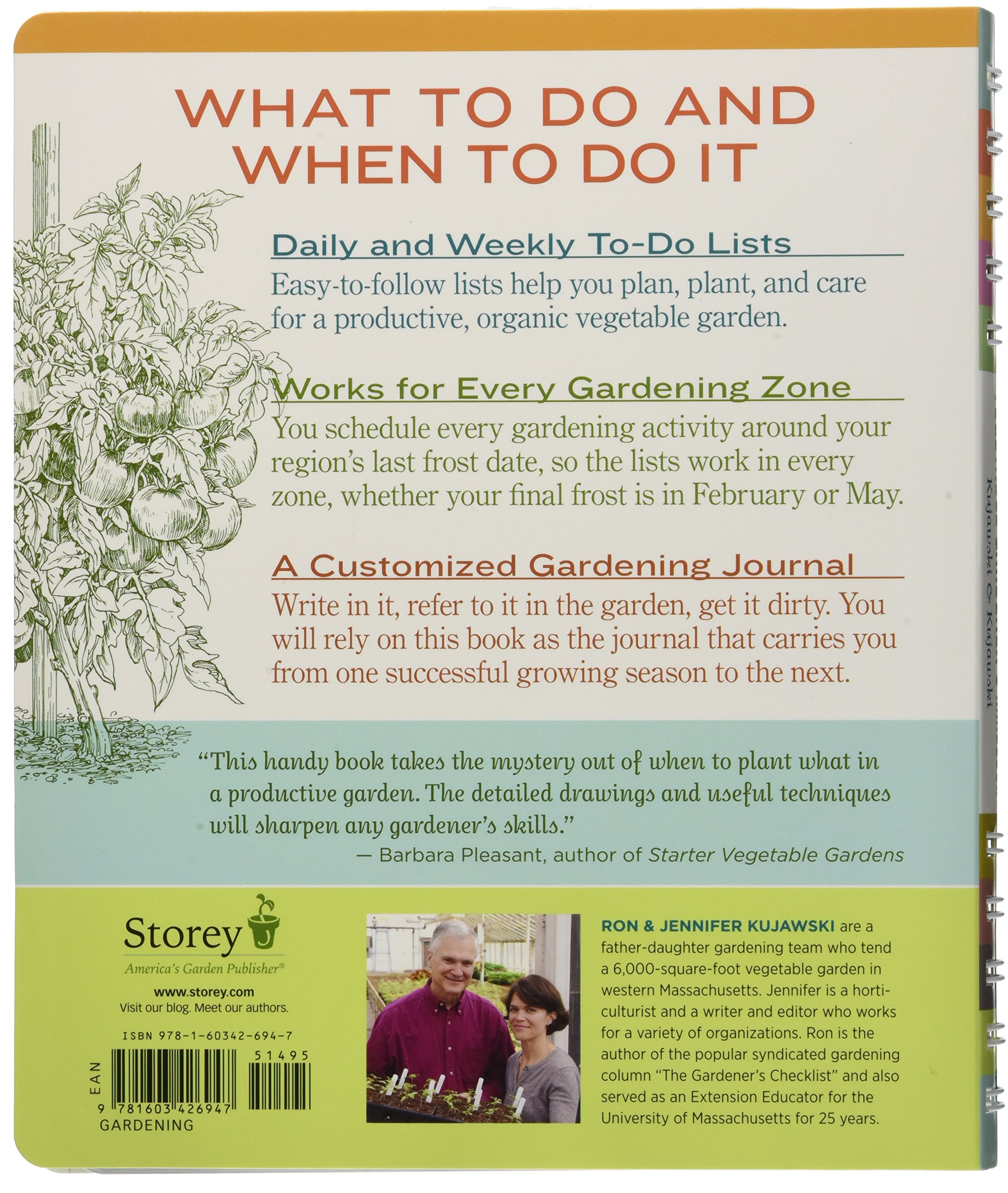 the week by week vegetable gardener u0027s handbook make the most of