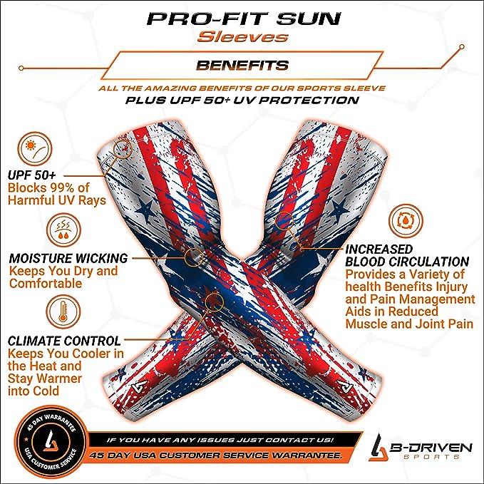 Sun Guard + Mangas de compresión para deportes para hombres y ...