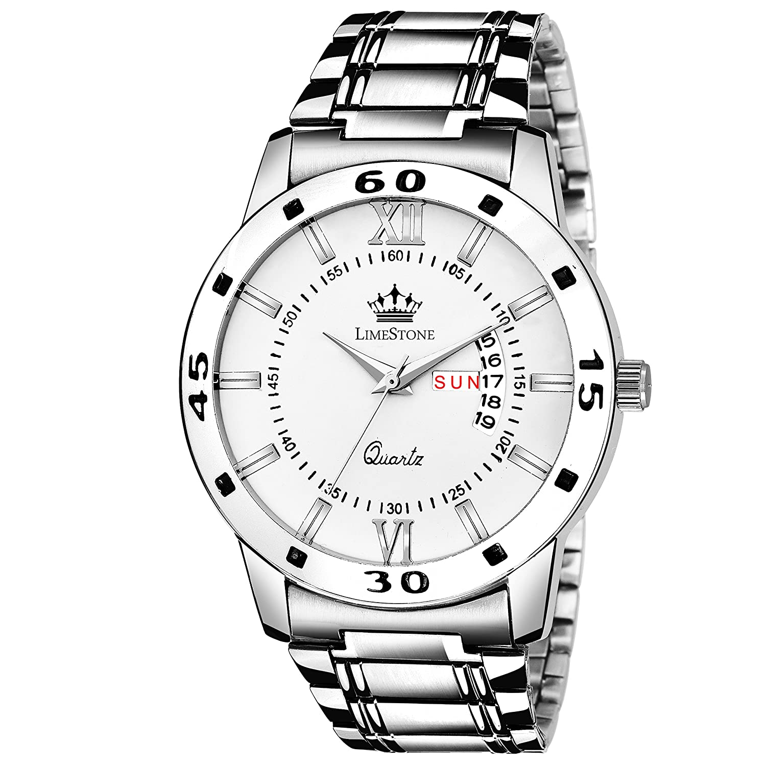 LimeStone Day and Date Functioning Series Analog Watch For Men/Boys - (LS2726)