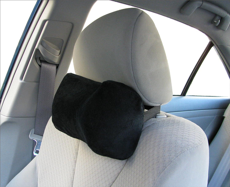 Amazon com car neck pillow soft version neck pillow car pillow memory foam neck pillow neck rest pillow car neck pillow color black home