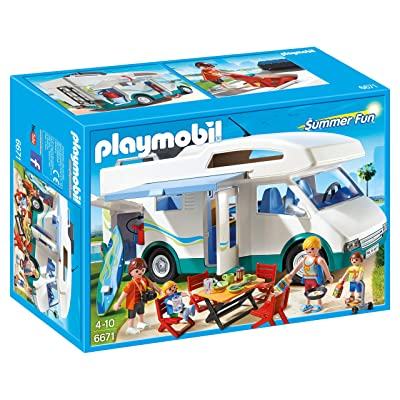 PLAYMOBIL Summer Camper: Toys & Games