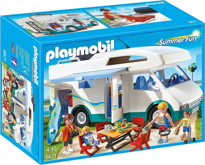 Playmobil Caravana de Verano 6671: Amazon.es: Juguetes y juegos