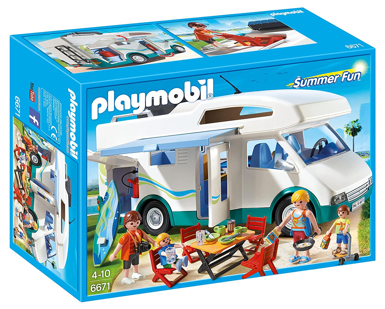 Playmobil Caravana De Playmobil Caravana Verano De 6671 b76gvYfy