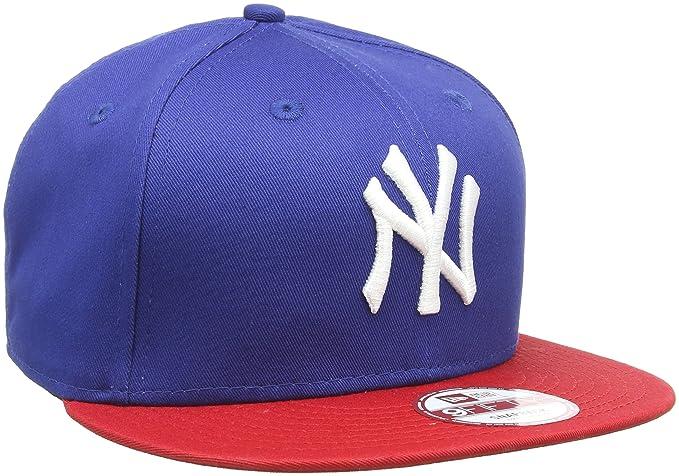 new concept 9633f 20b08 New Era New York Yankees Royal blue S M Cotton Block Snapback Cap 9fifty
