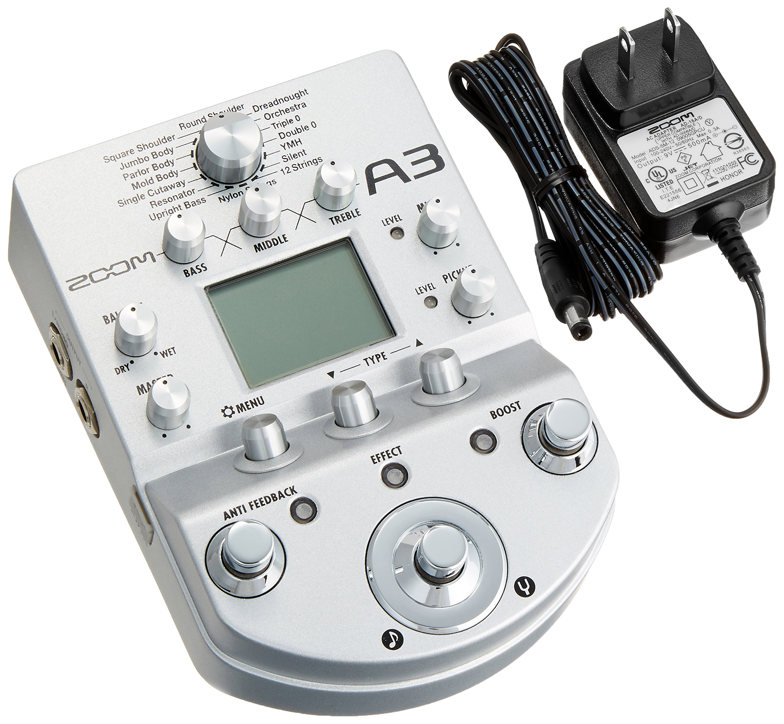 Zoom acoustic sound effector A3