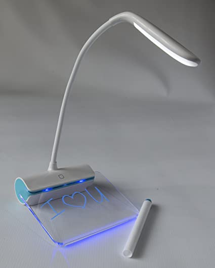 Amazon.com: Único Flexible LED lámpara de computadora con ...