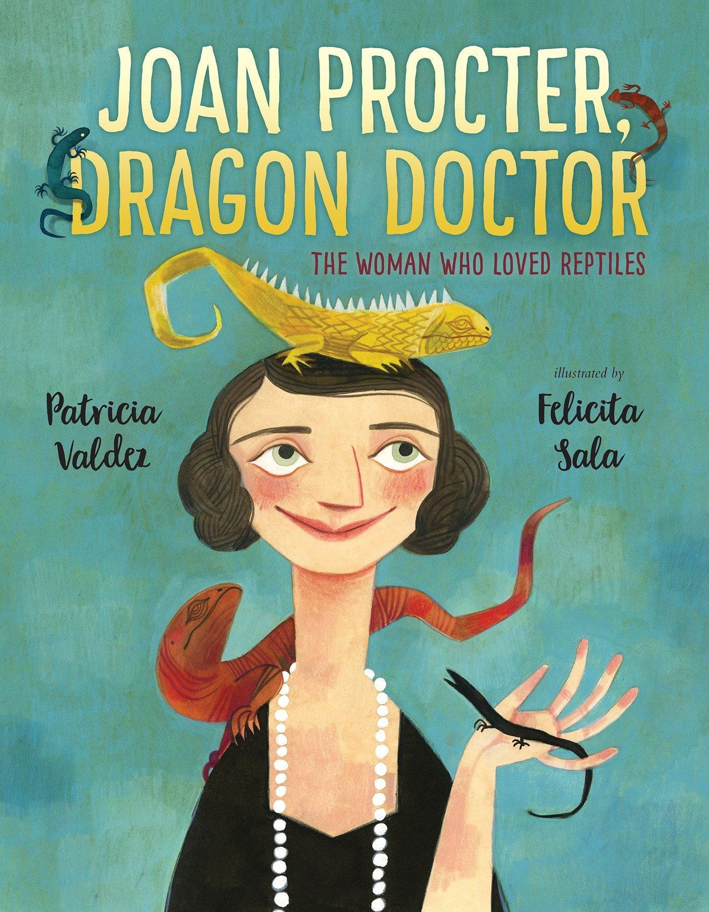 My recommendations in picture books about animals. Joan Procter Dragon Doctor by Patricia Valdez cover