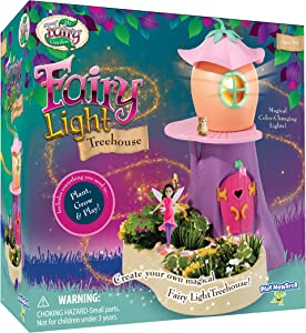 My Fairy Garden Light Treehouse Playset with Color-Changing Light