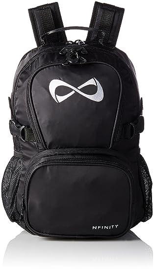 Amazon.com : Nfinity Petite Backpack, Black/White : Sports & Outdoors