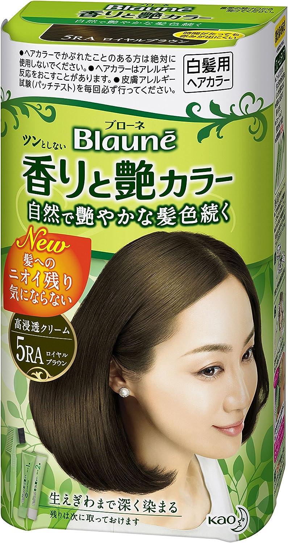 ブローネ 香りと艶カラークリーム 5RA
