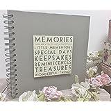 Wood Words Memories Book Scrapbook Photo Album Gift By East Of India