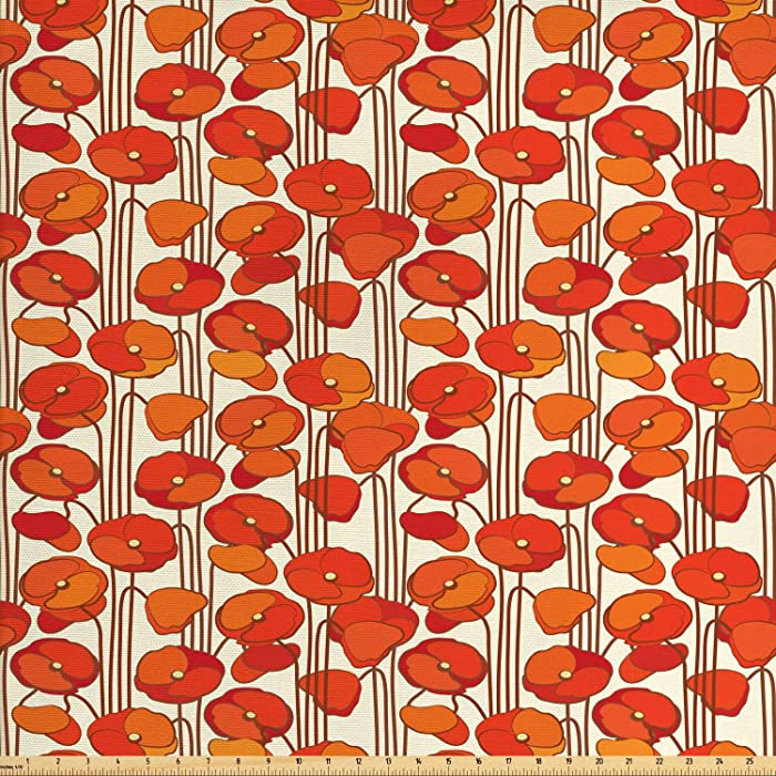 Top 10 Decorative Fabric For Upholstery And Home Accents Orange