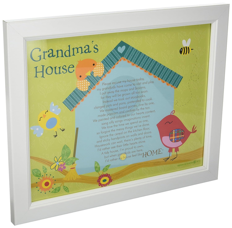 Amazon.com : The Grandparent Gift Framed Print Wall Decor, Grandma\'s ...