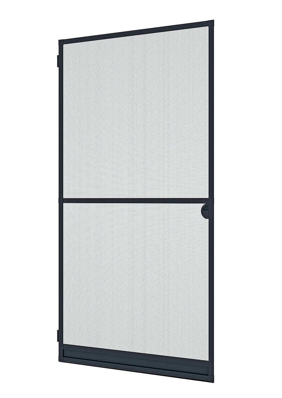 Windhager Insektenschutz Expert Spannrahmen-Tür, 120 x 240 cm, anthrazit / grau