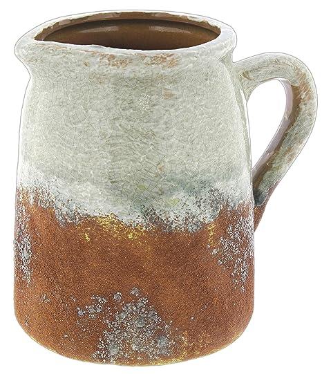 Amazon Mayrich 40 Distressed Grey Rust Decorative Ceramic Delectable Decorative Ceramic Pitchers