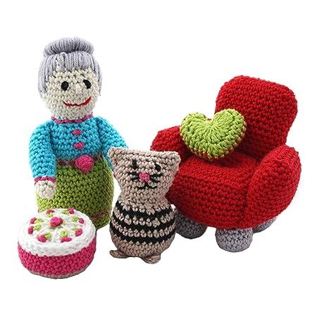Amigurumi Diy Set Amigurumi Grandmas Little Friends Invitation Set