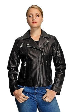 56a9d8d89 Michael Kors Women s Moto Leather Jacket at Amazon Women s Coats Shop
