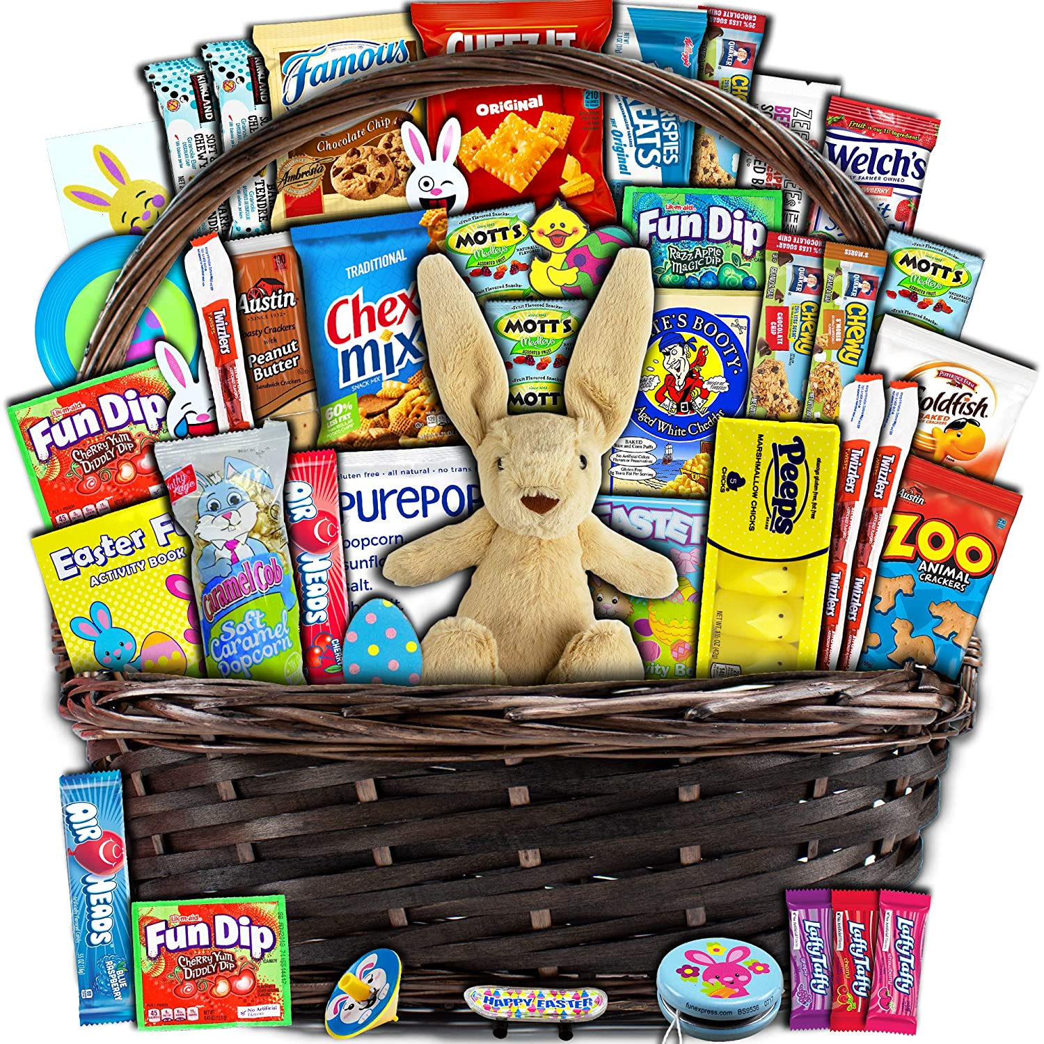 Amazon Com Easter Gift Basket For Kids And Adults 40ct Already Filled Wrapped With Plush Easter Bunny Chocolate Candy Peeps And Toys Boys Girls Grandchildren Young Children Toddlers Men Women,Best Home Decor Shopping Websites