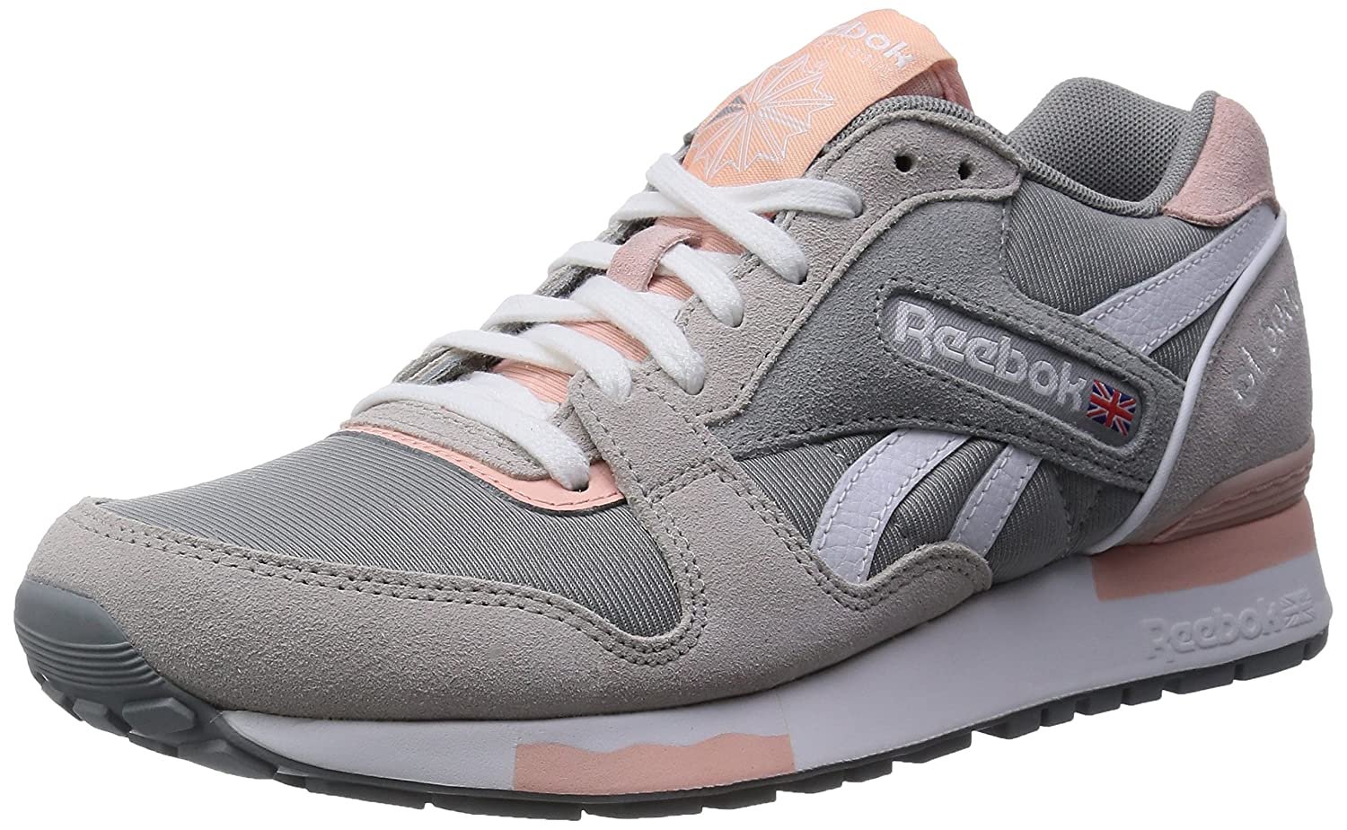 3dd1b2a81b4 ... coupon code for reebok gl 6000 athletic chaussures 35 grey steel coral  amazon.fr chaussures