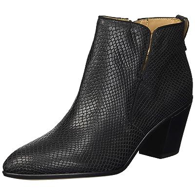Franco Sarto Orchard Black Metallic Snake F I-1-112239 | Boots