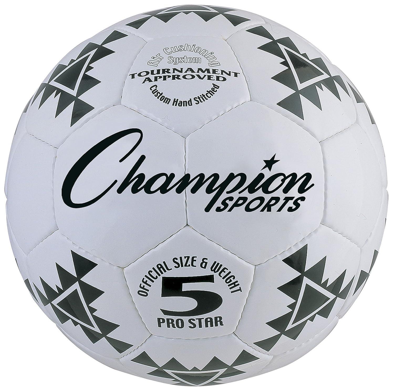 CHAMPION SPORTS Pro Star - Balón de fútbol: Amazon.es: Juguetes y ...