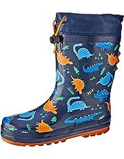 Clarks Boys Puddles B Shoes, Blue