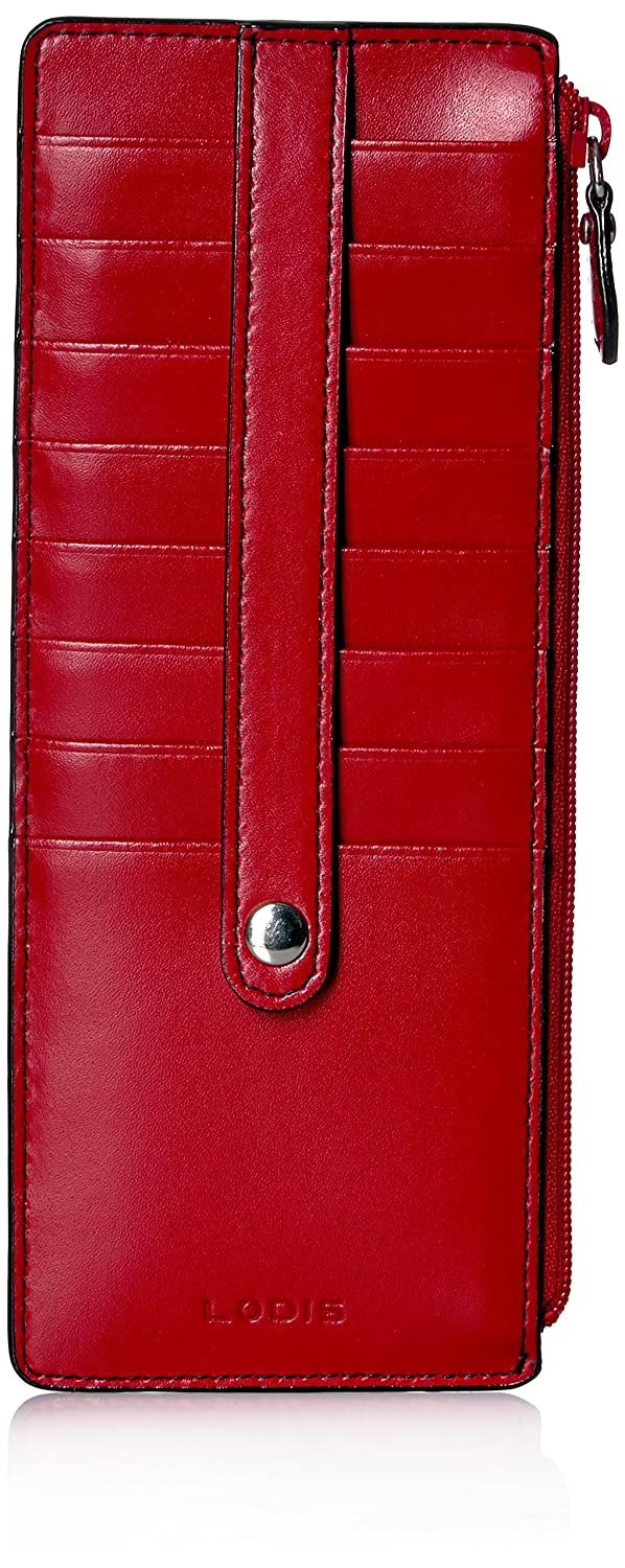 Lodis Audrey Rfid Credit Card Case With Zip Pocket Credit Card Holder 242AULK