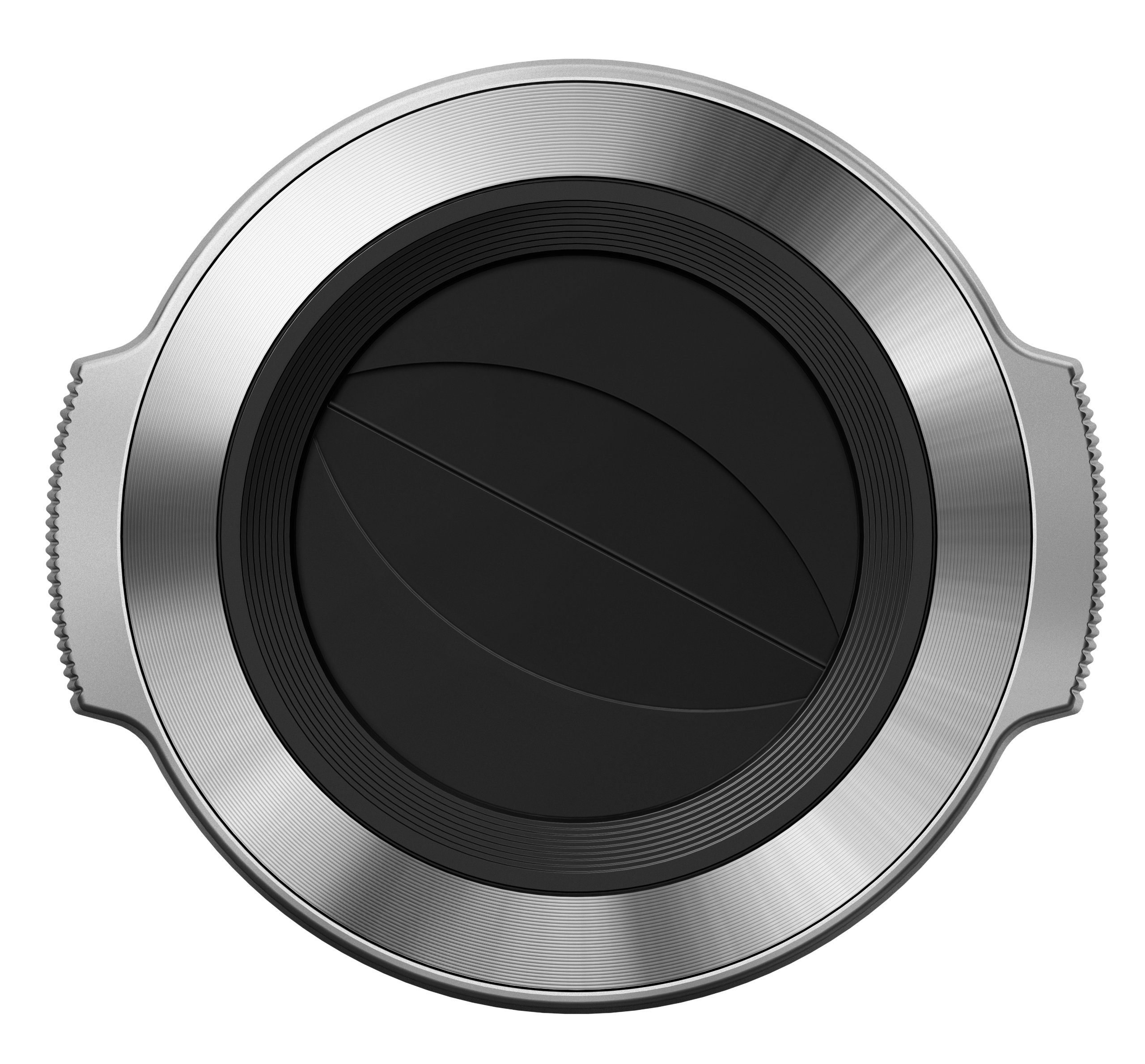 Olympus Lens Cap Auto Open LC-37C Silver for 14-42mm EZ (Silver)