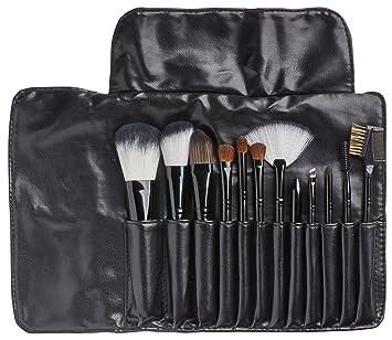 Amazon.com: zavbe 12 piezas maquillaje Juego de brochas ...