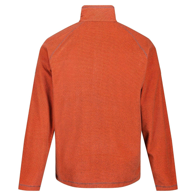 Regatta Montes Herren Fleece-Jacke mit halbem Rei/ßverschluss