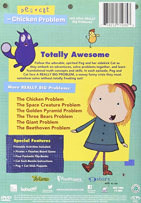e1ffa6af2f7 Amazon.com  Peg + Cat  The Chicken Problem and Other REALLY Big Problems   Movies   TV