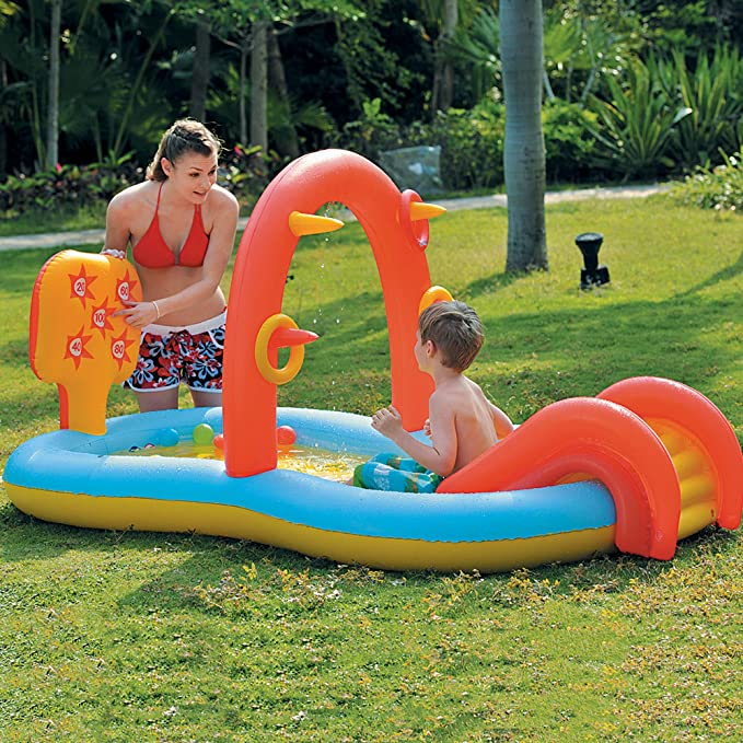 Amazon.com: Centro de juegos de agua interactivo para niños ...