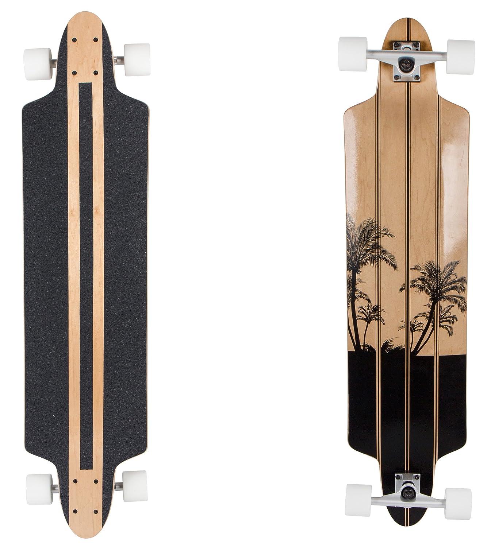 SportPlus Monopat/ín con Tabla de Arce Canadiense Tabla Skate con Cojinetes con Rodamientos ABEC-7 En Diferentes Tama/ños y Colores
