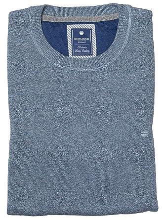 Redmond Pullover Rundhals hellblau, Größe  3XL  Amazon.de  Bekleidung 4b299eaf94