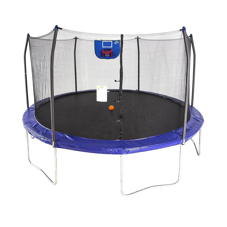 15 feet jump n' dunk trampoline