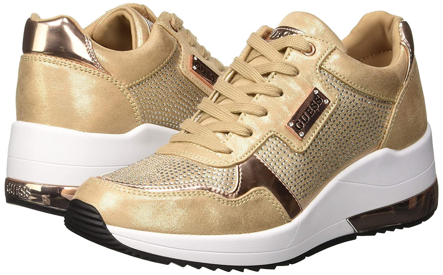 GUESS Womens Janeet//Active Lady//Fabric Trainers