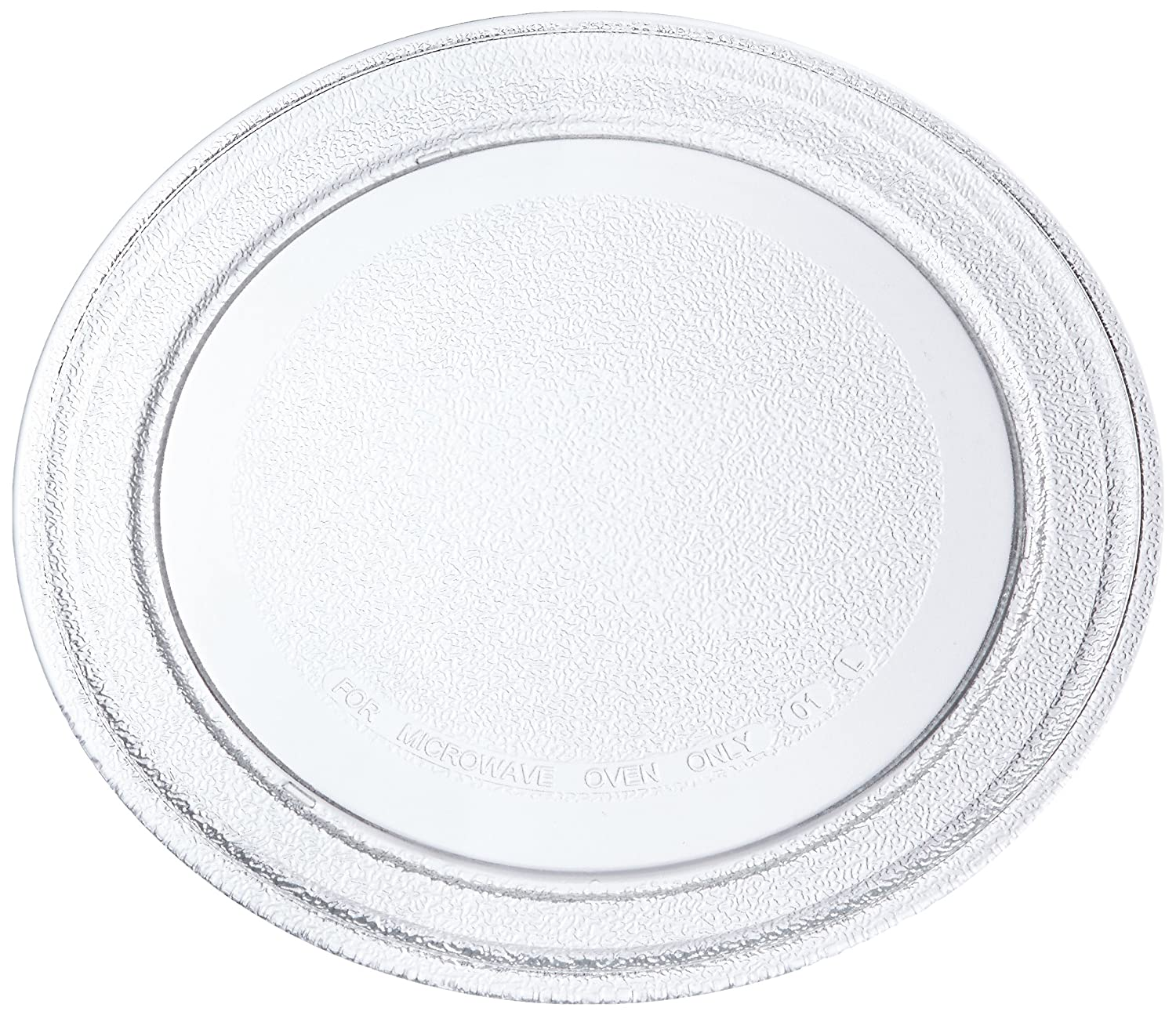 Europart Universal Microwave Turntable Glass Plate with Flat Profile, 245 mm Maddocks 75-UN-03