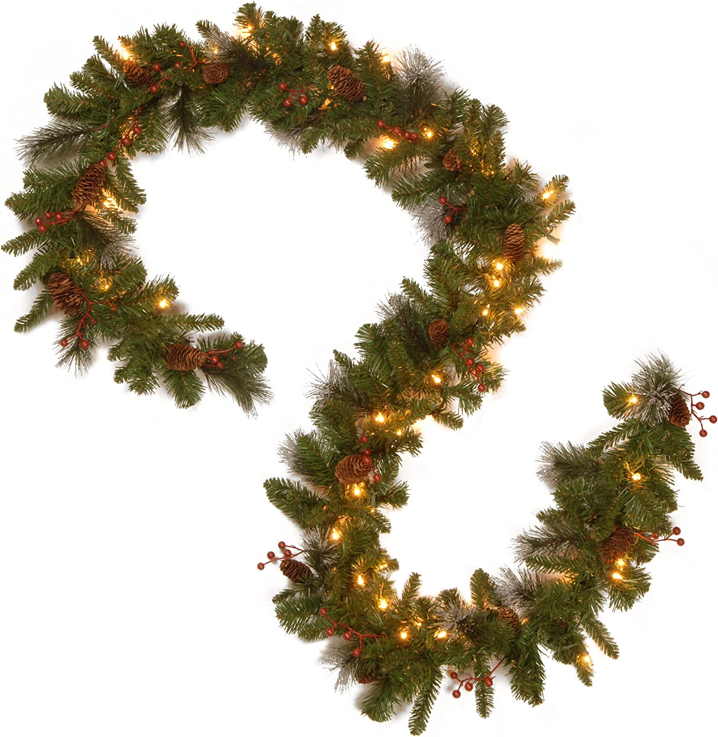 Style06, Details about  /Christmas Garland Party Pine Tree Ribbon Xmas Ornament Decorations