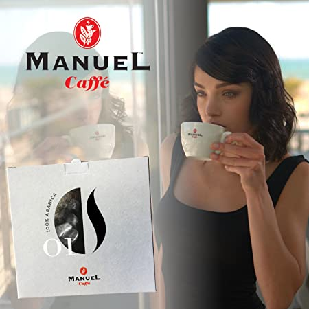 Roasted Italian Premium Espresso, Manuel Caffe. Medium Roast, Full-Bodied, Rich And Thick Crema. Sweet And Intense. Other Roast Selection In Our Amazon ...