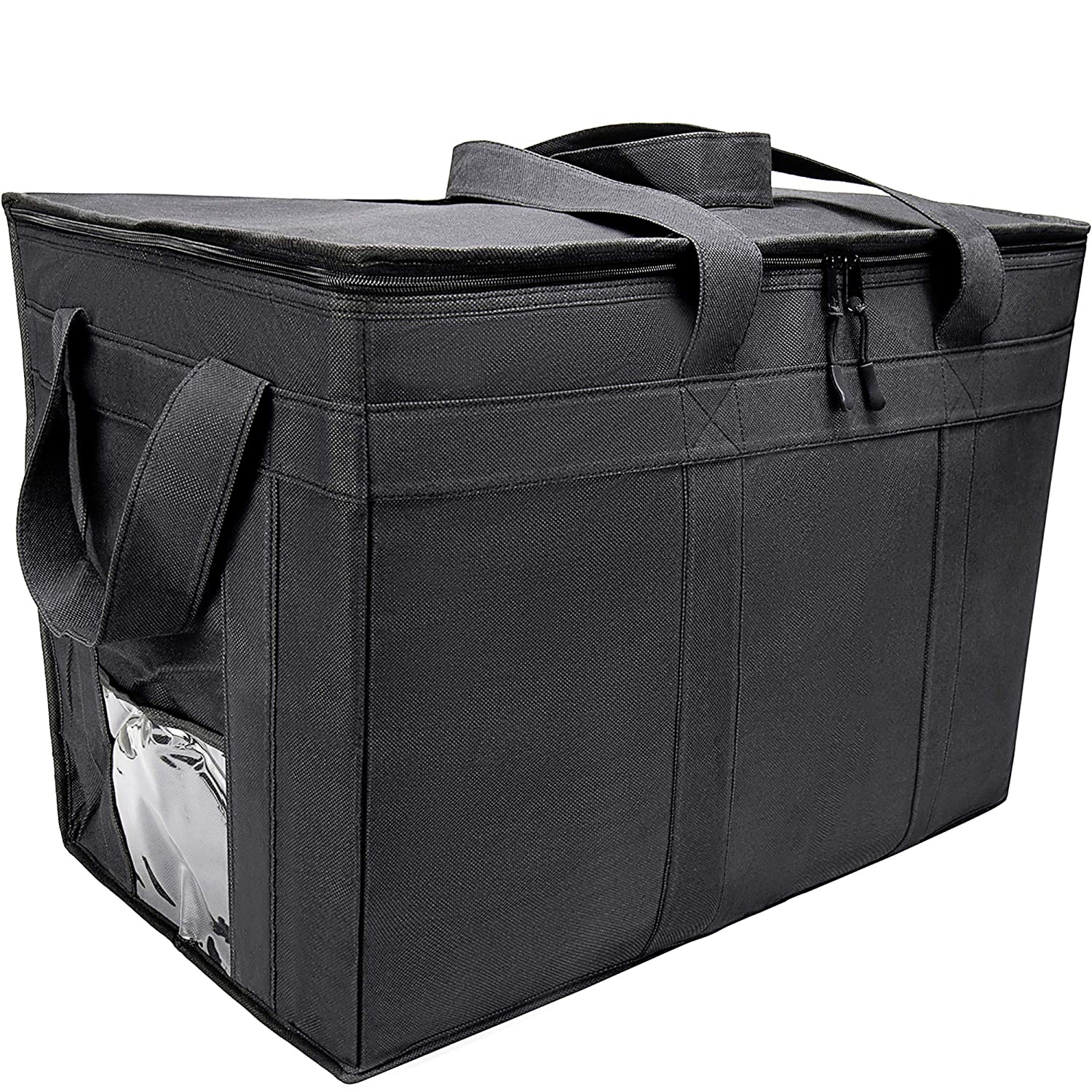 Insulated Delivery Grocery Bag Carrier, 23