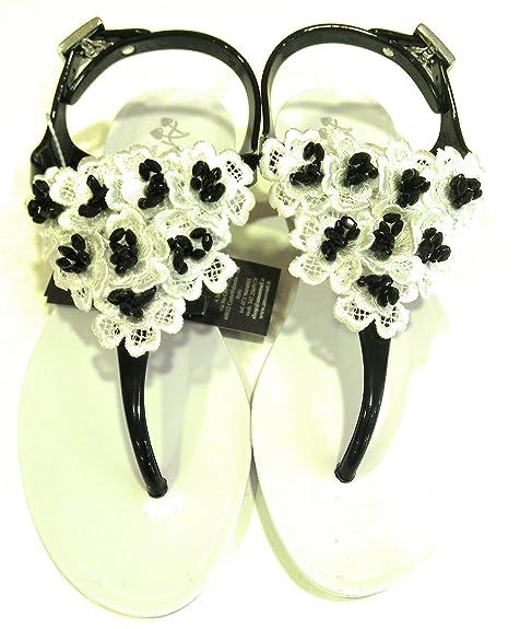 Nero Amare GommaAmarene 100 Bianco Infradito Sandalo Donna In Srl E9eW2IYDH