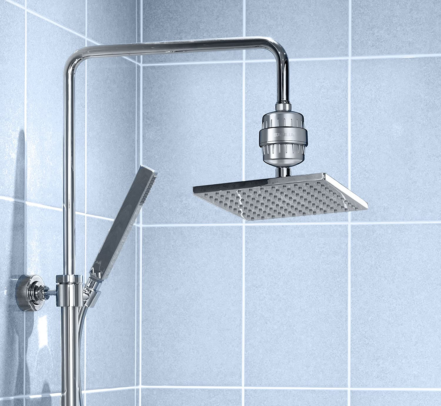 Baulia 10-Stage Shower Water Filter - Easy Installation for Any ...