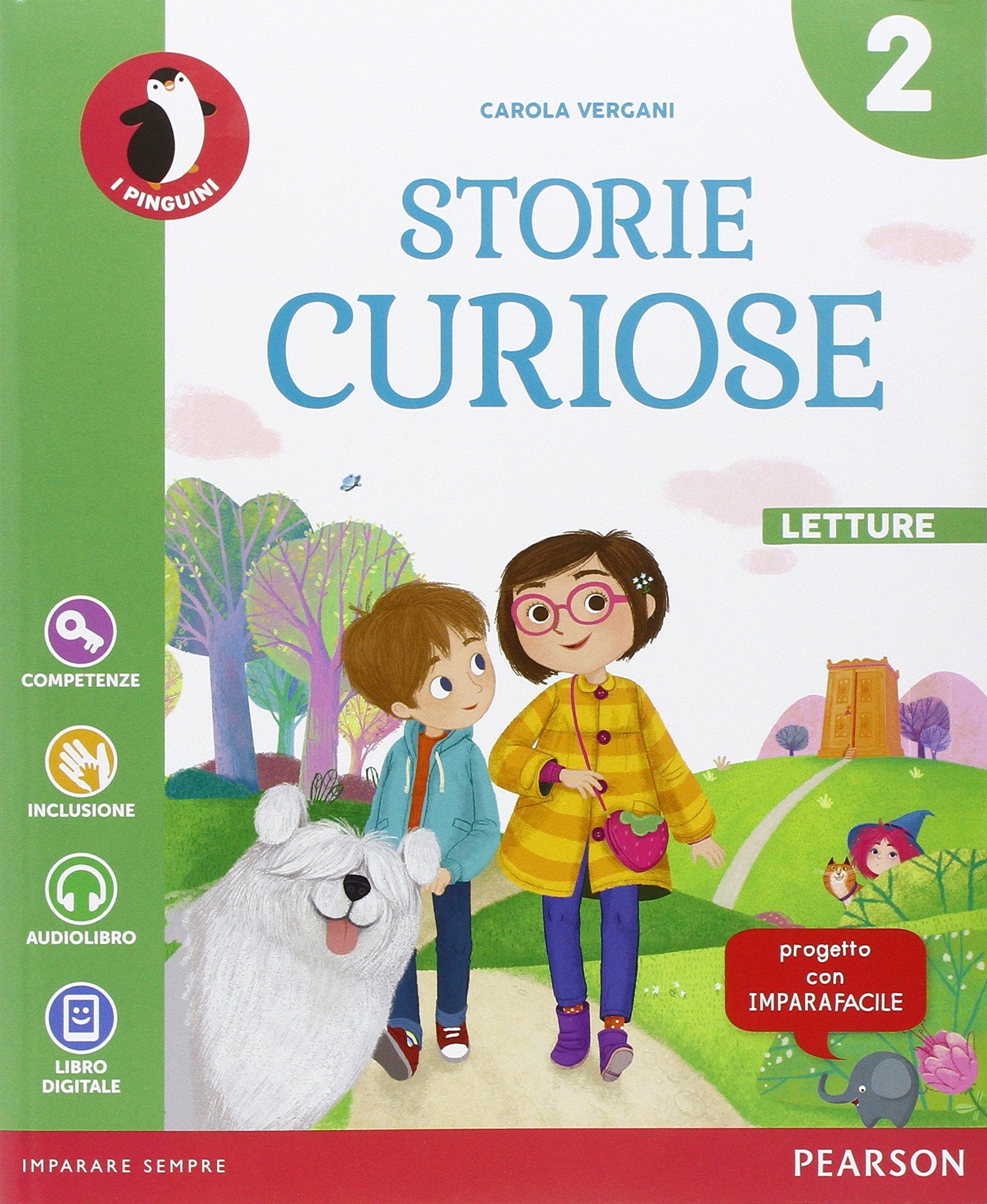 Favorito Storie curiose. Per la Scuola elementare. Con e-book. Con  ZP33
