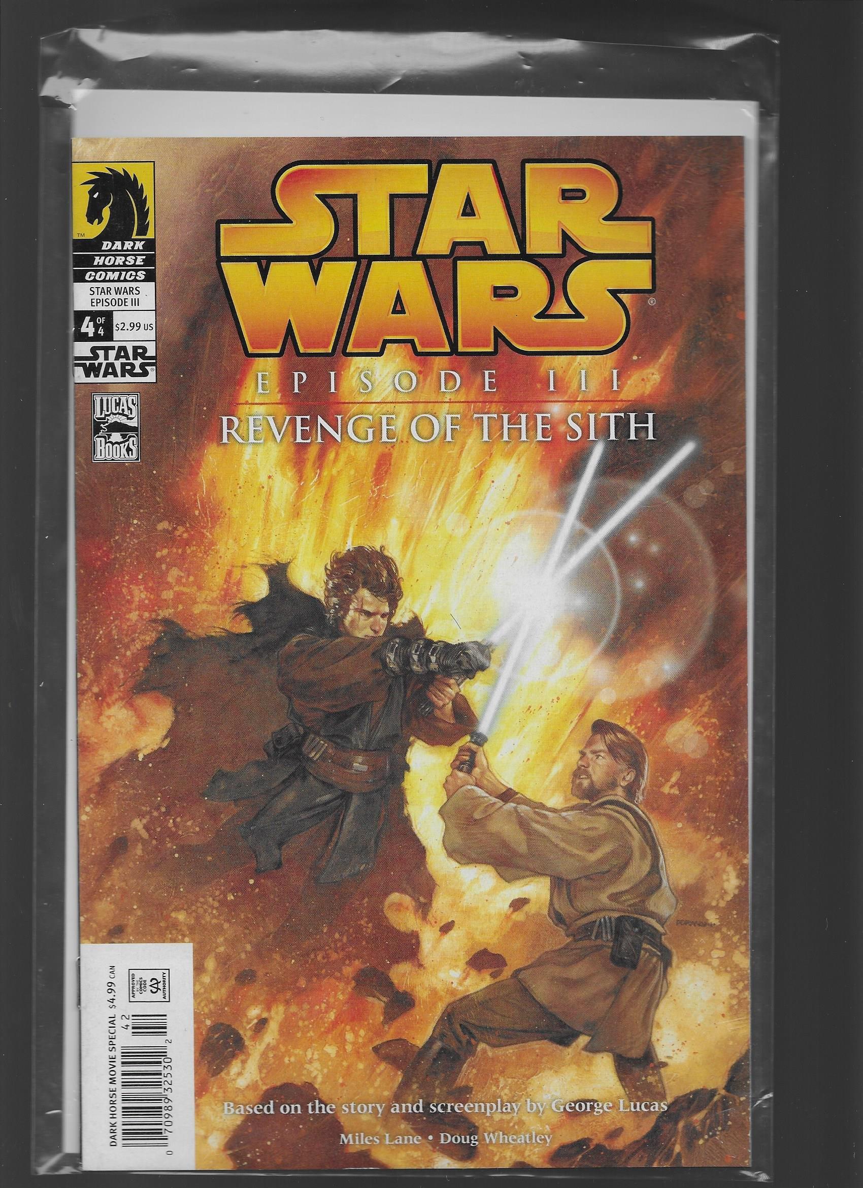 Star Wars Episode Iii Revenge Of The Sith 4 Amazon Com Books